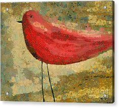 The Bird - K03b Acrylic Print by Variance Collections