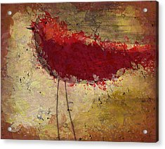 The Bird - S65b Acrylic Print by Variance Collections