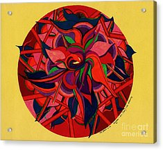 The Blooming Acrylic Print by Suzi Gessert