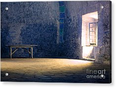 The Blue Room Acrylic Print by Bob Christopher