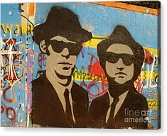 The Blues Brothers Acrylic Print by Craig Pearson