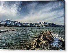 The Blustery Day Acrylic Print by Mitch Shindelbower