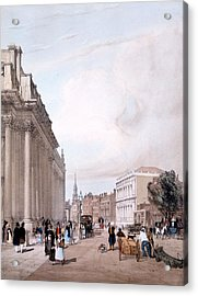 The Board Of Trade, Whitehall Acrylic Print by Thomas Shotter Boys