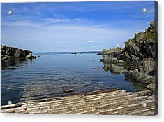 The Boat Launch Acrylic Print by Qing