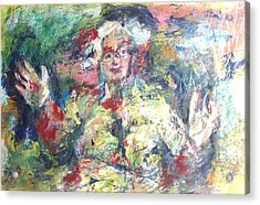 The Bobbe Acrylic Print by Esther Newman-Cohen