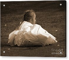 The Bridesmaid Acrylic Print by Terri Waters