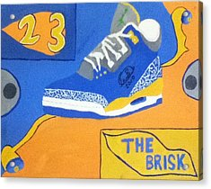 The Brisk Acrylic Print by Mj  Museum
