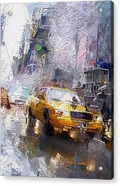 The Cab  Acrylic Print by Stefan Kuhn
