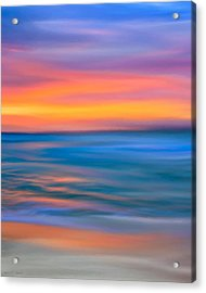 The Call Of Distant Seas Acrylic Print by Mark E Tisdale