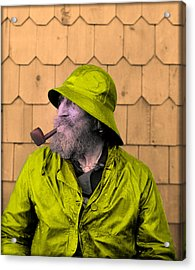 The Cape Ann Fisherman Acrylic Print by Digital Reproductions