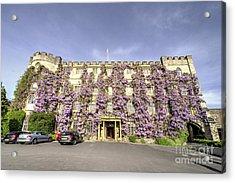 The Castle Hotel  Acrylic Print by Rob Hawkins