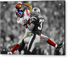 The Catch Acrylic Print by Brian Reaves
