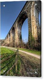 The Cefn Mawr Viaduct Acrylic Print by Adrian Evans