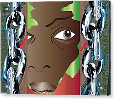 The Chains Acrylic Print by Charles Smith
