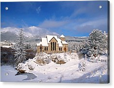 The Chapel On The Rock 3 Acrylic Print by Eric Glaser