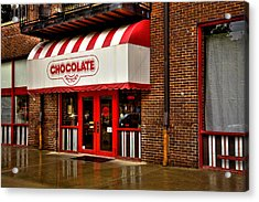 The Chocolate Factory Acrylic Print by David Patterson