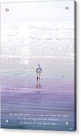 The Chosen One Acrylic Print by Holly Kempe