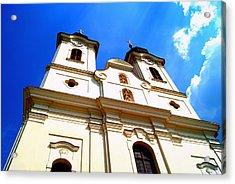 The Church Acrylic Print by Adam  S