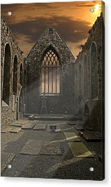 The Church Acrylic Print by Brendan Quinn