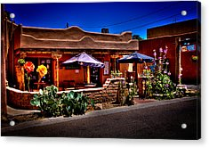 The Church Street Cafe - Albuquerque New Mexico Acrylic Print by David Patterson