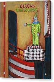 The Circus Fun House Acrylic Print by Patricia Arroyo