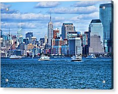 The City Of Dreams Acrylic Print by Dan Sproul