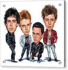 The Clash Acrylic Print by Art