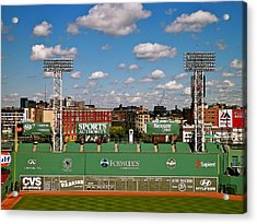 The Classic II Fenway Park Collection  Acrylic Print by Iconic Images Art Gallery David Pucciarelli