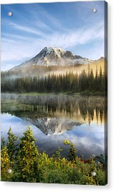 The Clearing Acrylic Print by Ryan Manuel