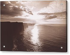 The Cliff Of Moher Ireland Acrylic Print by Panoramic Images