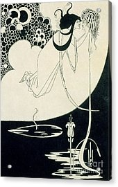 The Climax Acrylic Print by Aubrey Beardsley