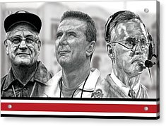 The Coaches Acrylic Print by Bobby Shaw
