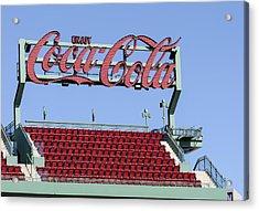 The Coca-cola Corner Acrylic Print by Susan Candelario