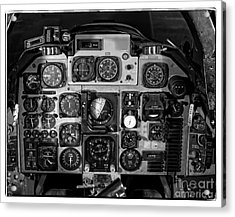 The Cockpit Acrylic Print by Edward Fielding