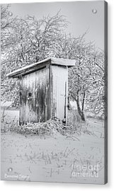 The Coldest Fifty Yard Dash Acrylic Print by Benanne Stiens