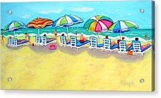 The Color Of Summer  Acrylic Print by Rebecca Korpita