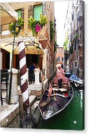 The Colors Of Venice Acrylic Print by Irina Sztukowski