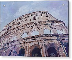 The Colossus  Acrylic Print by Jenny Armitage