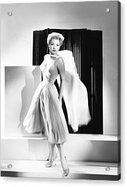 The Come On, Anne Baxter Acrylic Print by Everett