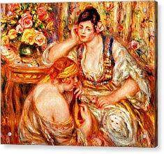 The Concert Acrylic Print by Pierre Auguste Renoir