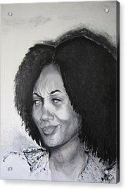 The Conversation 2 Of 2 Acrylic Print by Roberta Rainey