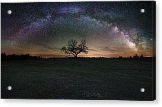 The Cosmic Key Acrylic Print by Aaron J Groen