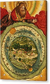 The Creation, From The Lutheran Bible Acrylic Print by German School