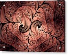 The Creative Mind Acrylic Print by Georgiana Romanovna