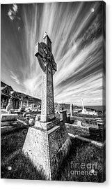 The Cross Acrylic Print by Adrian Evans