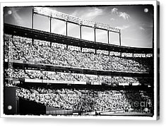 The Crowd Acrylic Print by John Rizzuto
