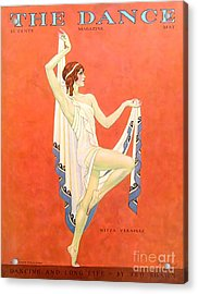 The Dance 1929 1920s Usa Nitza Vernille Acrylic Print by The Advertising Archives