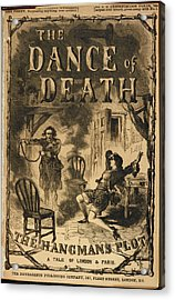 The Dance Of Death Acrylic Print by British Library