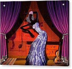 The Dancer V2 Acrylic Print by Bedros Awak