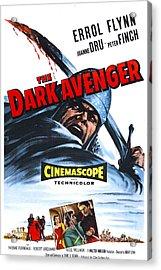 The Dark Avenger, Aka The Warriors, Us Acrylic Print by Everett